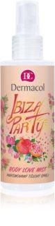 Dermacol Body Love Mist Ibiza Party парфюмиран спрей за тяло