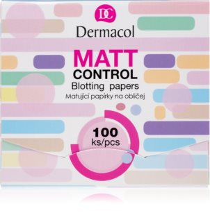 Dermacol Matt Control матуючі серветки