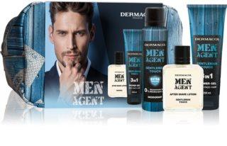 Dermacol Men Agent Gentleman Touch coffret para rosto, corpo e cabelo