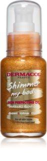 Dermacol Shimmer My Body žametno olje za telo z bleščicami