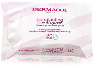 Dermacol Cleansing tissues om bestendige en waterproof make-up te verwijderen