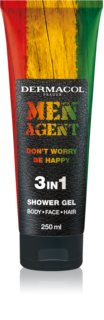 Dermacol Men Agent Don´t Worry Be Happy gel za prhanje 3v1
