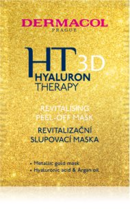 Dermacol HT 3D maschera peel-off rivitalizzante viso con acido ialuronico