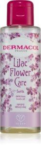 Dermacol Flower Care Lilac ulei hrănitor de lux pentru corp
