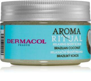 Dermacol Aroma Ritual Brazilian Coconut jemný telový peeling