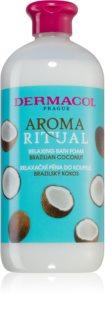 Dermacol Aroma Ritual Brazilian Coconut schiuma rilassante per il bagno