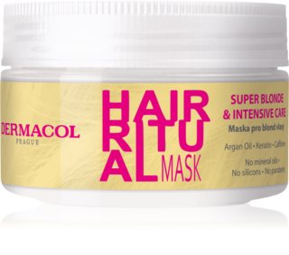 Dermacol Hair Ritual maska pro blond vlasy