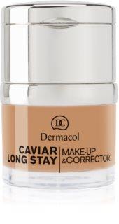 Dermacol Caviar Long Stay дълготраен фон дьо тен с екстракт от хайвер и коректор за несъвършенства
