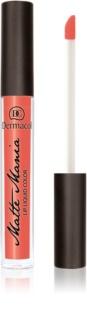 Dermacol Matte Mania rouge à lèvres liquide mat