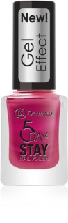 Dermacol 5 Day Stay vernis à ongles effet gel