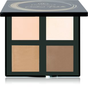 Dermacol Contour Palette Púderes highlight és kontúr paletta