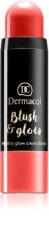 Dermacol Blush & Glow кремовые румяна (придающий сияние)