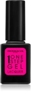 Dermacol One Step Gel Lacquer lak za nokte s gel efektom