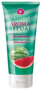 Dermacol Aroma Ritual Fresh Watermelon loção corporal refrescante