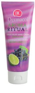 Dermacol Aroma Ritual Grape & Lime Handcreme gegen Stress