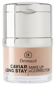 Dermacol Caviar Long Stay Langaanhoudende Make-up met kaviaar extract en perfectie concealer