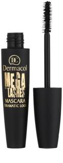 Dermacol Mega Lashes Dramatic Look Volumen-Mascara für geschwungene Wimpern