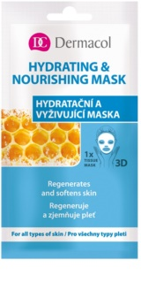 Dermacol Hydrating & Nourishing Mask 3D Moisturising and Nourishing Sheet Mask