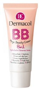 Dermacol BB Magic Beauty creme hidratante com cor  8 em 1