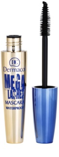 Dermacol Mega Lashes Waterproef Mascara voor Volume