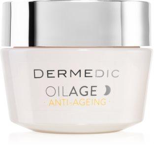 Dermedic Oilage Anti-Ageing регенериращ нощен крем за въстановяване плътността на кожата