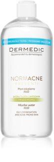 Dermedic Normacne Preventi eau micellaire pour peaux grasses et mixtes