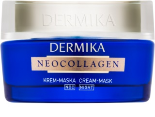 Dermika Neocollagen Overnight Creamy Face Mask for Skin Regeneration and Wrinkle Reduction