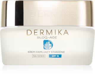 Dermika Bloq-Age crema de día antiarrugas  SPF 15