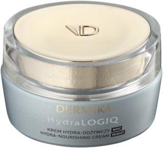 Dermika HydraLOGIQ crème de nuit nourrissante effet hydratant