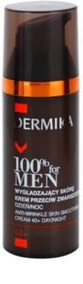 Dermika 100% for Men creme suavizante antirrugas 40+