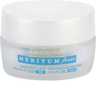 Dermika Meritum Forte поживний крем для сухої та чутливої шкіри