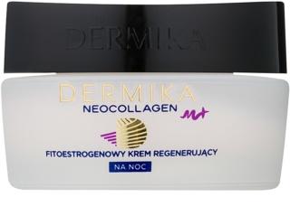 Dermika Neocollagen M+ αναγεννητική κρέμα νύχτας με φυτοοιστρογόνα