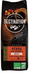 Destination Les Origines Peruánská jednodruhová mletá káva