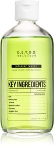 Detox Skinfood Key Ingredients erfrischendes Mizellenwasser