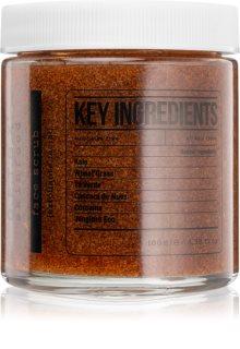 Detox Skinfood Key Ingredients čistiaci pleťový peeling