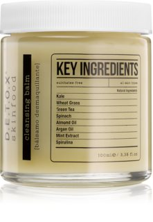 Detox Skinfood Key Ingredients čistiaci balzam