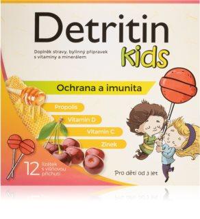 Silvita Kids lízátka na imunitu višeň podpora imunity u dětí