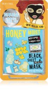 Dewytree Black Mask Honey Moist maska odżywcza w płacie