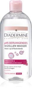 Diadermine pH5 agua micelar calmante para pieles sensibles y secas