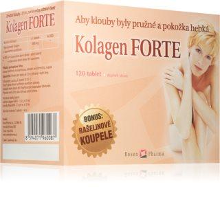 ROSENPHARMA Kolagen Forte Rosen Spa doplněk stravy s čistým kolagenem pro krásu a zdraví pokožky