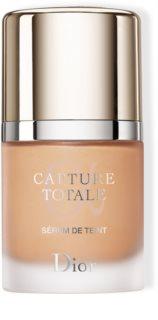 DIOR Capture Totale Triple Correcting Serum Foundation rozjasňující a omlazující make-up pro přirozený vzhled SPF 25