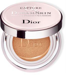 DIOR Capture Dreamskin Moist & Perfect Cushion hydratační make-up v houbičce SPF 50