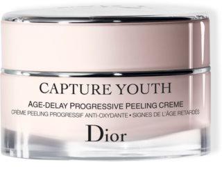 Dior Capture Youth Age-Delay Progressive Peeling Creme Crema delicata pentru peeling