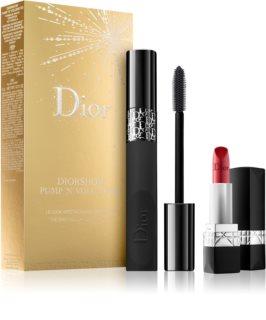 Dior Diorshow Pump'n'Volume HD косметичний набір для жінок