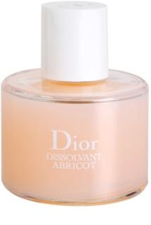 Dior Dissolvant Abricot removedor de verniz  sem acetona