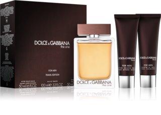 Dolce & Gabbana The One For Men dovanų rinkinys V. vyrams