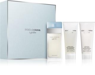 Dolce & Gabbana Light Blue dovanų rinkinys VI. moterims