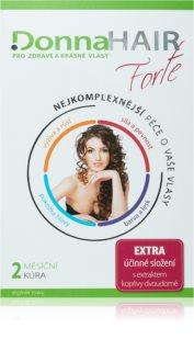 DonnaHAIR FORTE kúra 2 měsíce doplněk stravy pro zdravé a krásné vlasy