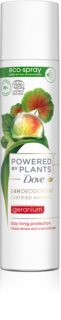 Dove Powered by Plants Geranium erfrischendes Deodorant-Spray