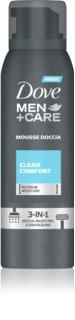 Dove Men+Care Clean Comfort Duschschaum 3in1